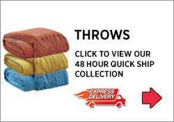 Throws and Blankets 48 Hour Express Delivery