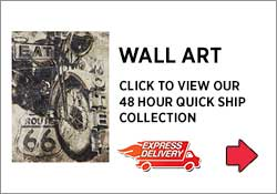 Wall Art 48 Hour Express Delivery